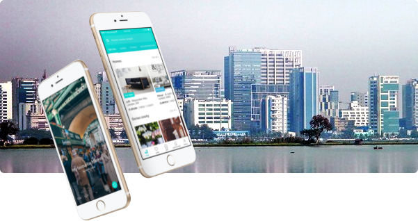 Property portal app for best properties in India